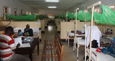 Children's ward at Koroqwe Hospital, Eastern Tanzania