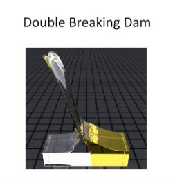 Double breaking dam