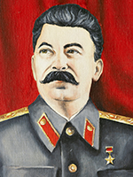 Illustration af Stalin