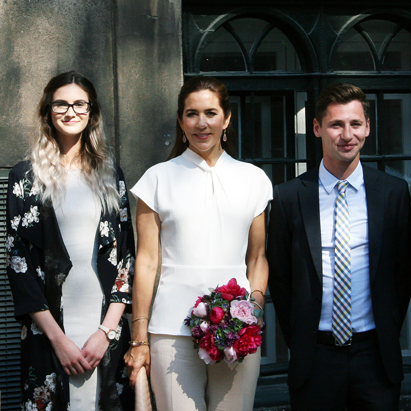 Royal recognition to Australian exchange students
