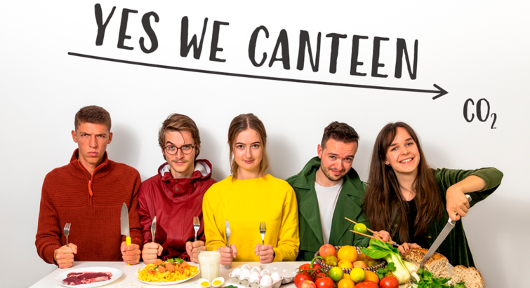 The 'Yes we canteen' team
