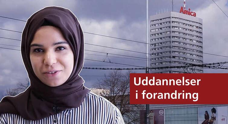 Alina er fem uger i Warszawa i projektforløb på uddannelsen Global Health
